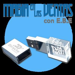 Curso Magia En Las Ventas USB Cristal