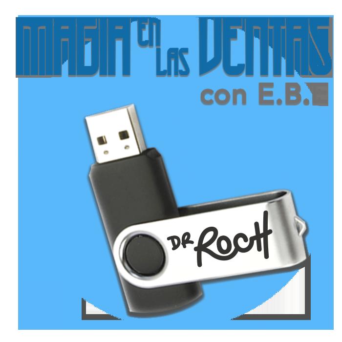 Curso Magia En Las Ventas USB plástica
